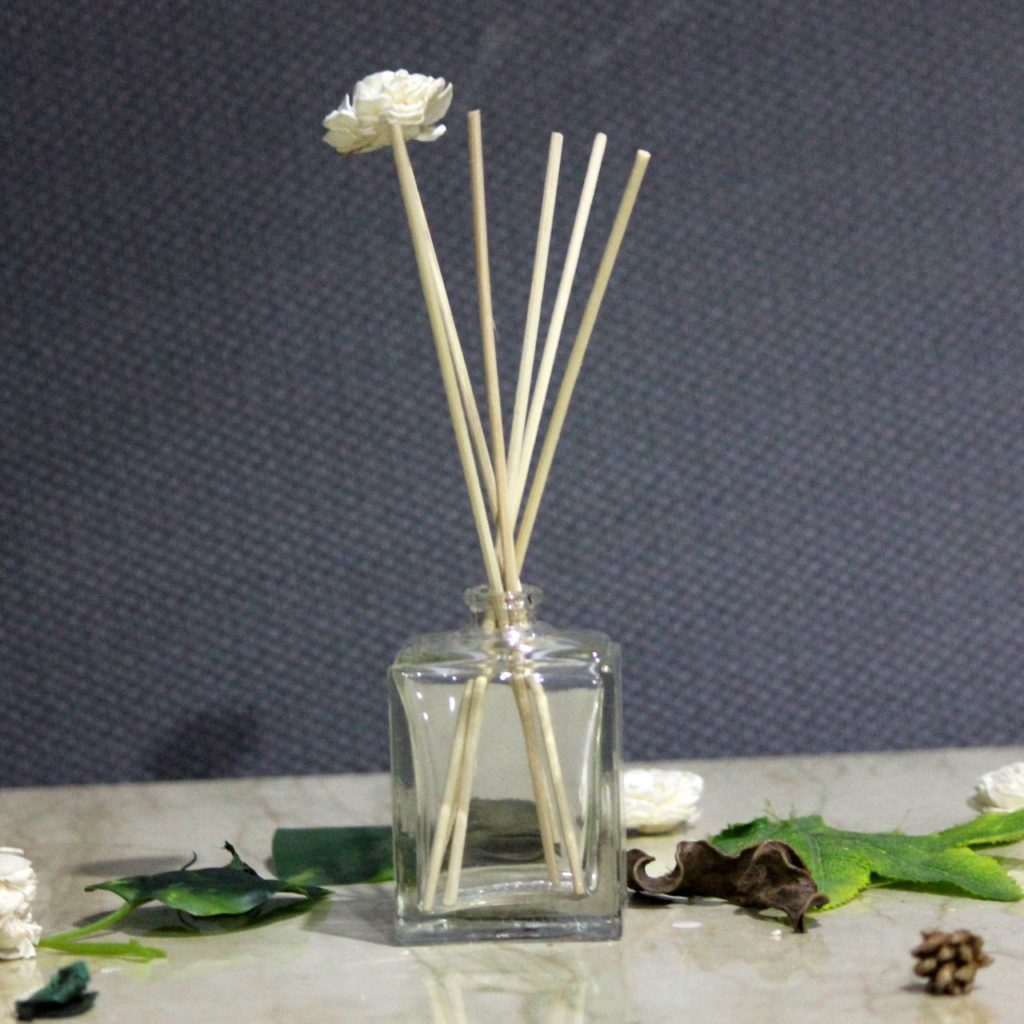Glass Reed Diffuser Jar | Indian Royal Crafts | Brahmz