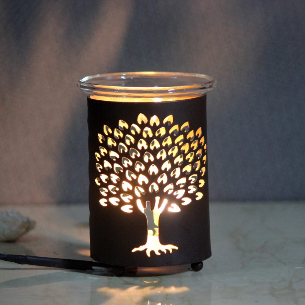 Tree Metal Oil Diffuser   Indian Royal Crafts   Brahmz