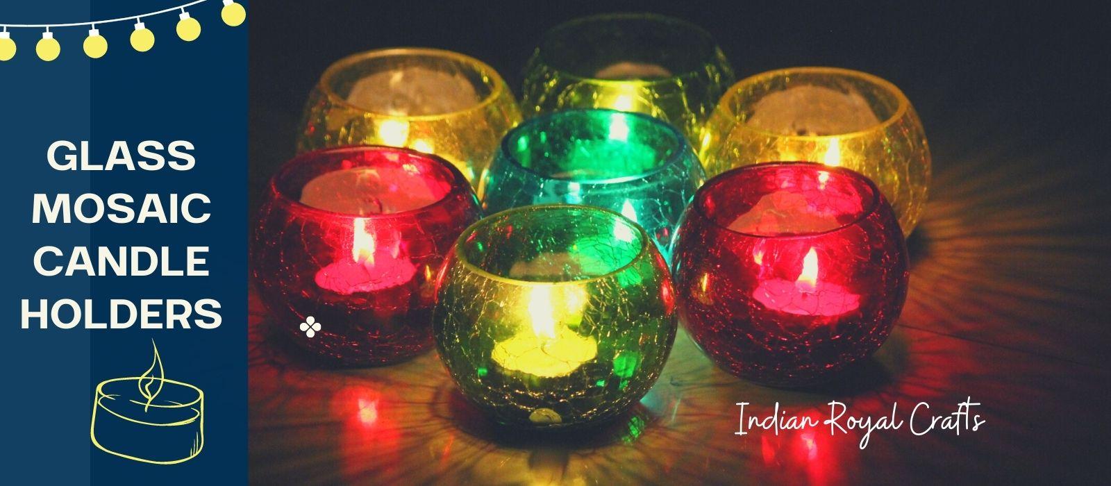Glass Candle Holder | Votives